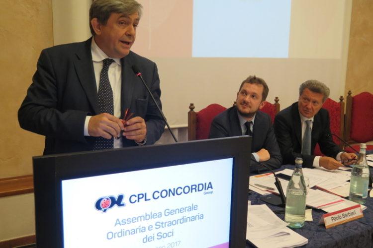 Il Presidente di Legacoop Emilia Romagna Giovanni Monti